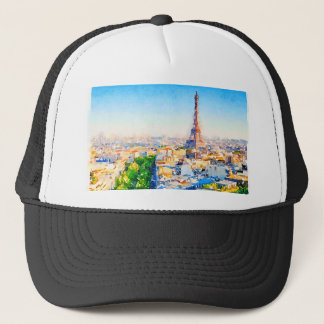 Tour Eiffel - Paris Trucker Hat