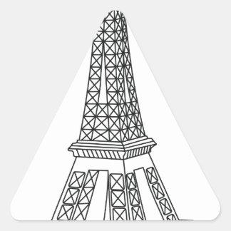 tour Eiffel Triangle Sticker