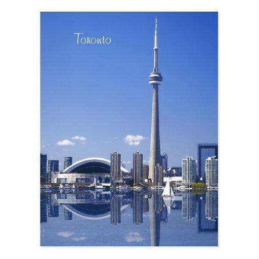 Tour et bâtiments de NC à Toronto, Ontario, Canada Carte Postale
