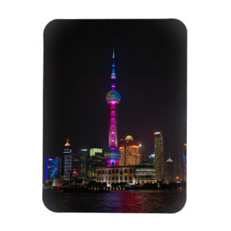 Tour orientale de perle - Changhaï, Chine - aimant Magnets Rectangulaires