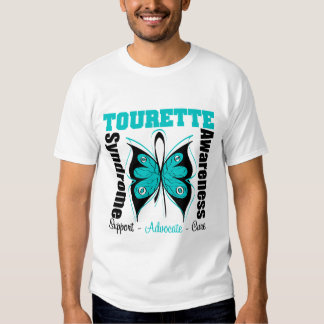 Tourette Syndrome Awareness Butterfly Shirts