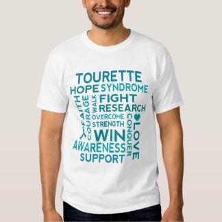 Tourette Syndrome Awareness Support Mens Tshirt