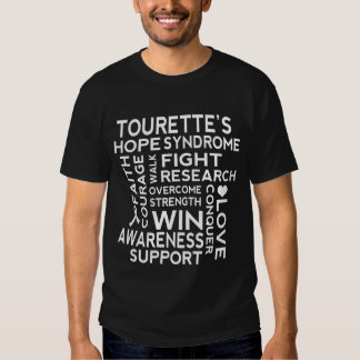 Tourette Syndrome Awareness Support Mens Tshirt