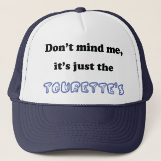 tourettes trucker hat
