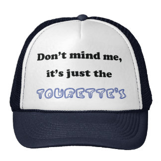 tourettes trucker hat
