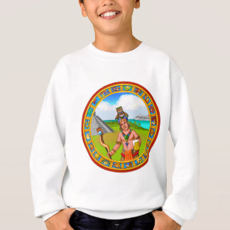 Tourism Chichen Itza Pyramid Tourguide Cold Beer Sweatshirt
