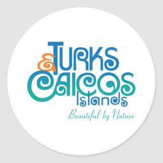 Tourist Board Classic Round Sticker