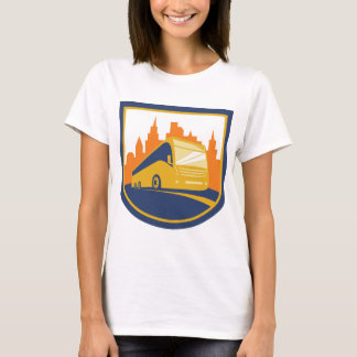 Tourist Bus Womens T-Shirt