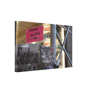 Tourist Shop New York City NYC Urban Photography Canvas Print