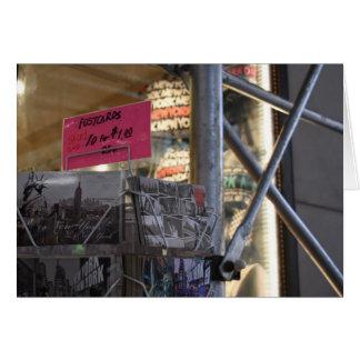 Tourist Shop New York City NYC Urban Photography Card