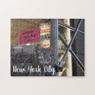 Tourist Shop New York City NYC Urban Photography Jigsaw Puzzle