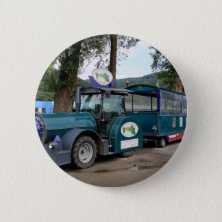 Tourist Shuttle train, Durnstein, Austria 2 Inch Round Button
