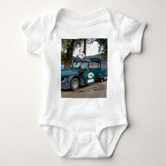 Tourist Shuttle train, Durnstein, Austria Baby Bodysuit