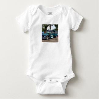 Tourist Shuttle train, Durnstein, Austria Baby Onesie
