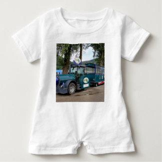 Tourist Shuttle train, Durnstein, Austria Baby Romper