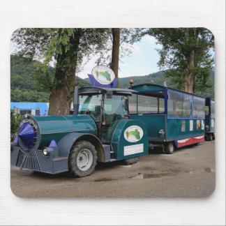 Tourist Shuttle train, Durnstein, Austria Mouse Pad