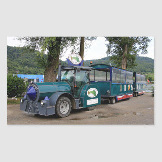 Tourist Shuttle train, Durnstein, Austria Sticker