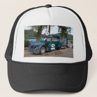 Tourist Shuttle train, Durnstein, Austria Trucker Hat