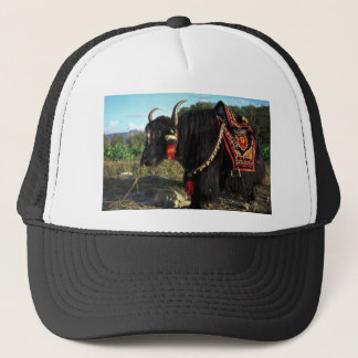 Tourist yak, Tibet Trucker Hat