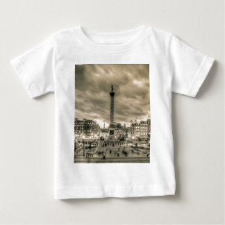 Tourists in Trafalgar Square, London Baby T-Shirt
