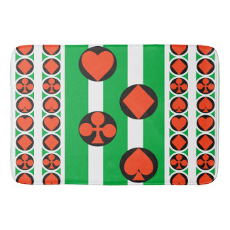 TOURNAMENT CASINO CARTOON LARGE  Bath Mat