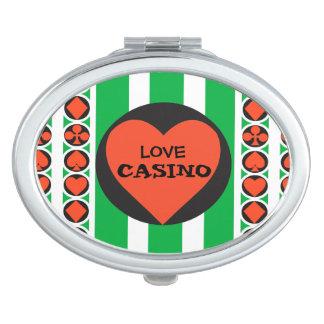 TOURNAMENT CASINO  compact mirror OVAL