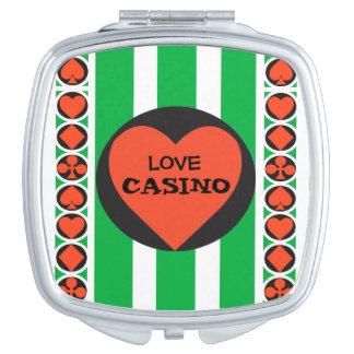 TOURNAMENT CASINO  compact mirror SQUARE