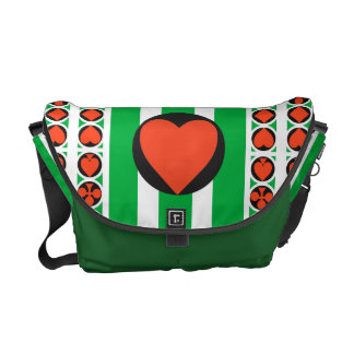 TOURNAMENT CASINO  Rickshaw MEDIUM Messenger Bag