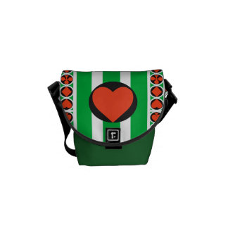 TOURNAMENT CASINO  Rickshaw MINI Messenger Bag
