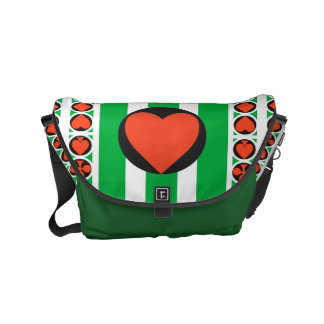 TOURNAMENT CASINO  Rickshaw SMALL Messenger Bag 2
