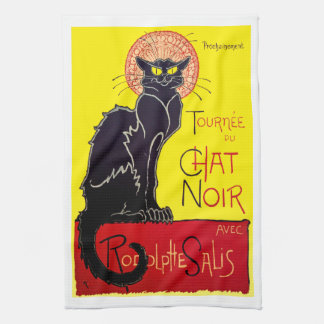 Tournee du Chat Noir French Cabaret Kitchen Towel