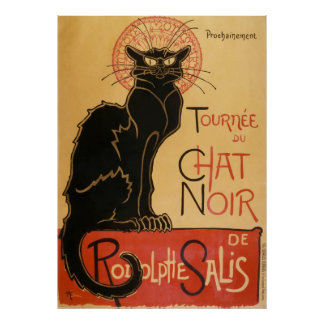 Tournee Du Chat Noir (the black cat) Poster