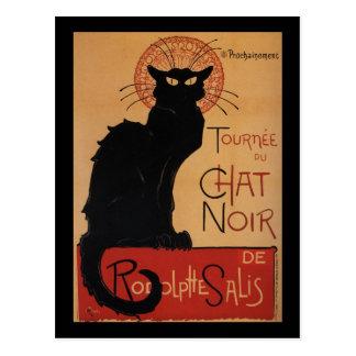Tournée du Chat Noir Théophile Steinlen Post Card