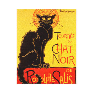 Tournée du Chat Noir - Vintage Poster Canvas Print