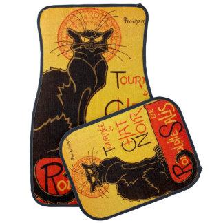 Tournée du Chat Noir - Vintage Poster Car Mat