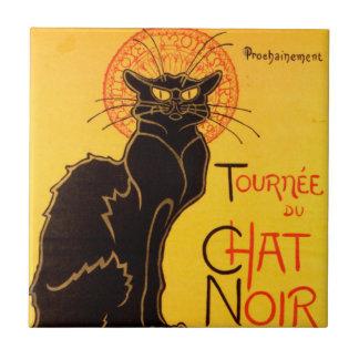 Tournée du Chat Noir - Vintage Poster Ceramic Tile