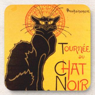 Tournée du Chat Noir - Vintage Poster Coaster