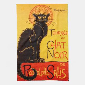 Tournée du Chat Noir - Vintage Poster Hand Towels