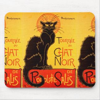 Tournée du Chat Noir - Vintage Poster Mouse Pad