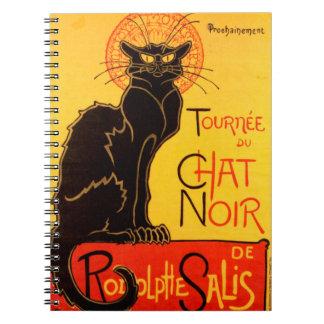 Tournée du Chat Noir - Vintage Poster Notebooks
