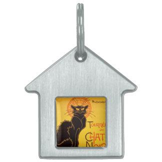 Tournée du Chat Noir - Vintage Poster Pet ID Tags