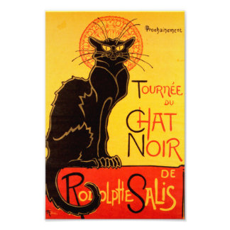 Tournée du Chat Noir - Vintage Poster Photo