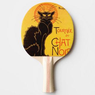 Tournée du Chat Noir - Vintage Poster Ping Pong Paddle