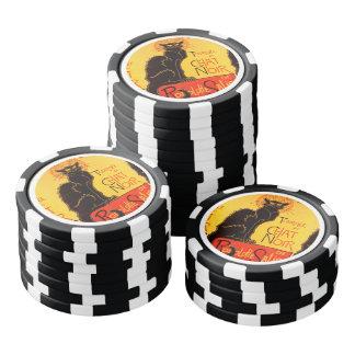 Tournée du Chat Noir - Vintage Poster Poker Chips