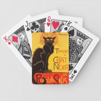 Tournée du Chat Noir - Vintage Poster Poker Deck