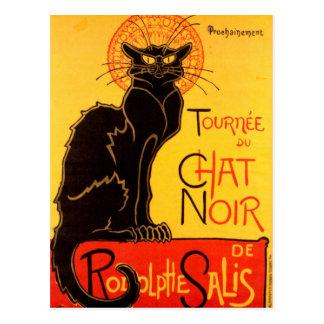 Tournée du Chat Noir - Vintage Poster Postcard