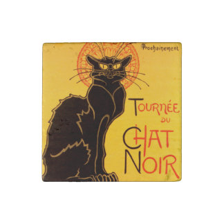 Tournée du Chat Noir - Vintage Poster Stone Magnets