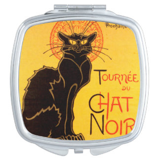 Tournée du Chat Noir - Vintage Poster Travel Mirrors