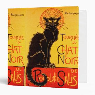 Tournée du Chat Noir - Vintage Poster Vinyl Binder