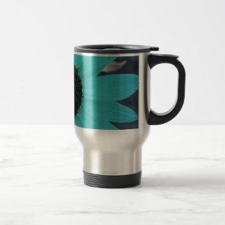 Tournesol bleu de jardin mugs